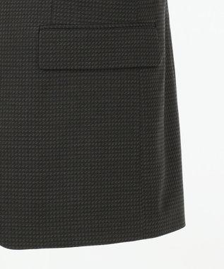 CK CALVIN KLEIN MEN 360スマートストレッチ 3Dダイヤゴナル スーツ グレー系