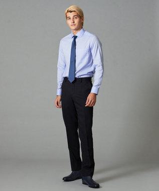 CK CALVIN KLEIN MEN 360スマートストレッチ 3Dダイヤゴナル スーツ ネイビー系