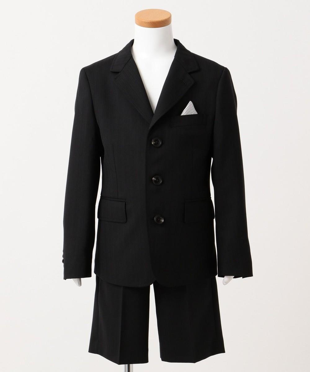 【オンワード】 J.PRESS KIDS>スーツ/ネクタイ 【110-130cm】ブラックシャドーストライプ セットアップ ブラック 120 キッズ 【送料無料】