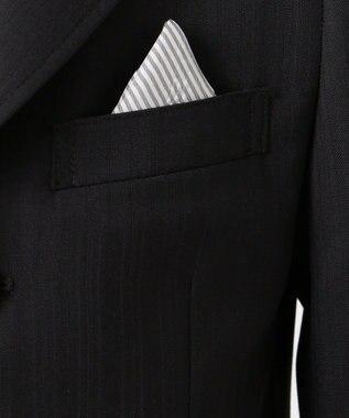 J.PRESS KIDS 【110-130cm】ブラックシャドーストライプ セットアップ ブラック系1