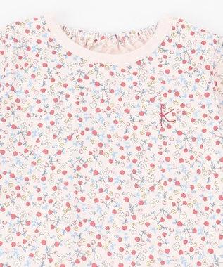 組曲 KIDS 【80-90cm】ピンクベリーカットソー+ワンピース 2点セット ピンク系5