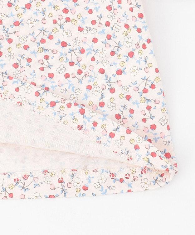組曲 KIDS 【80-90cm】ピンクベリーカットソー+ワンピース 2点セット