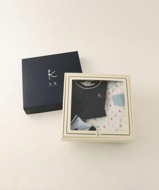 組曲 KIDS 【BABY】ギフトBOX(ヨットPT 3点セット) サックスブルー系5