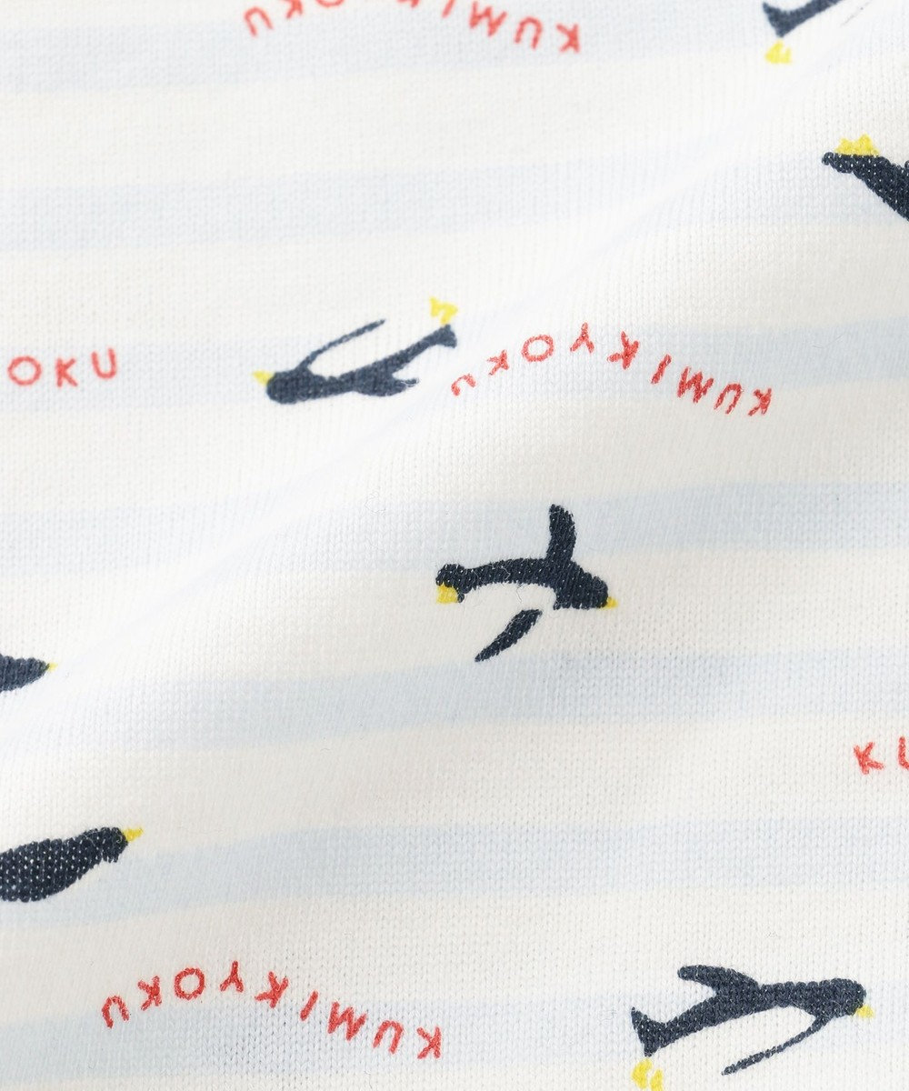 組曲 KIDS 【80~90cm】ペンギンプリント ギフトBOX サックスブルー系1