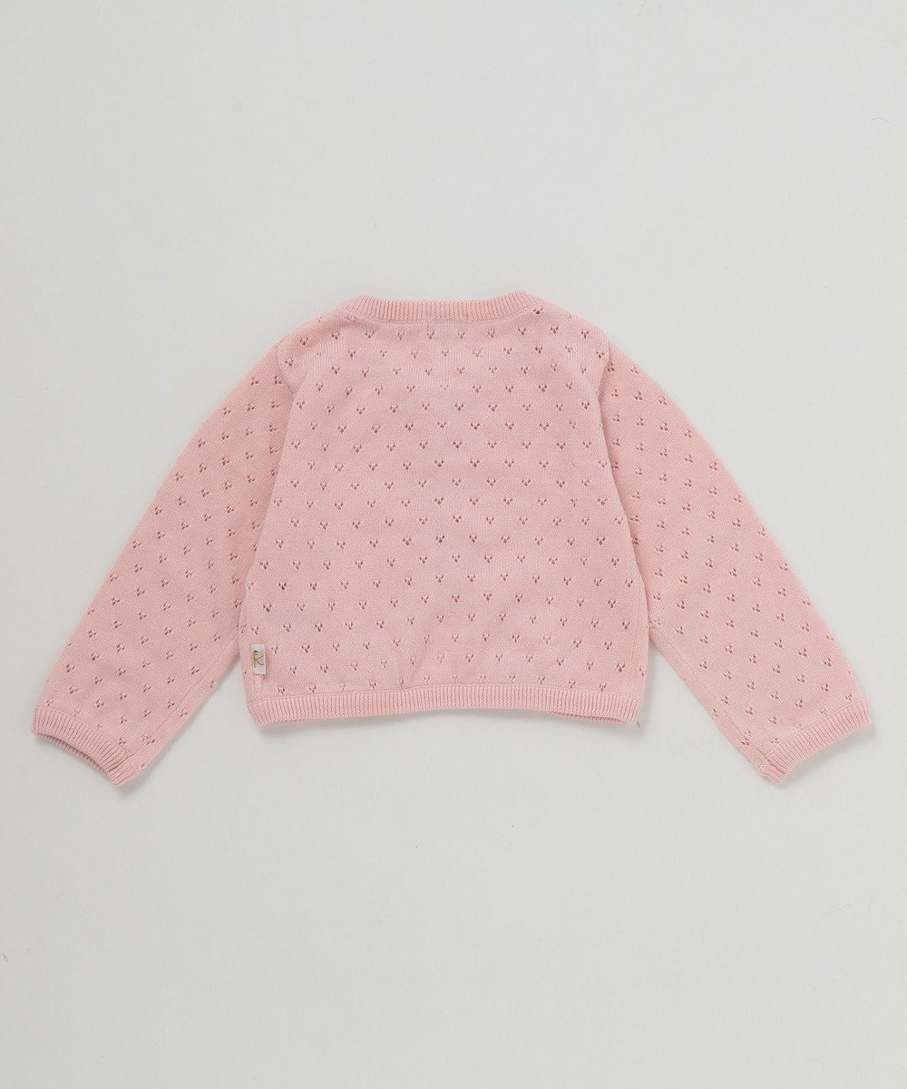 組曲 KIDS 【80~90cm】40/-スムースフラワープリント ギフトBOX (4点セット) ピンク系5