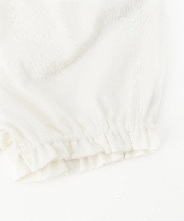 組曲 KIDS 【80-90cm】スムースドット ワンピース+ブルマ ネイビー系5