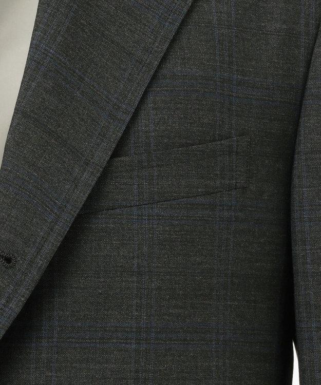 J.PRESS MEN 【CUBA BEACH】フェードブルーチェック スーツ / 背抜・ノータック