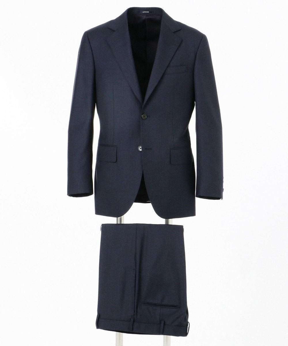 J.PRESS MEN 【Essential Clothing】マイクロハウンドトゥース スーツ / 総裏 ネイビー系3