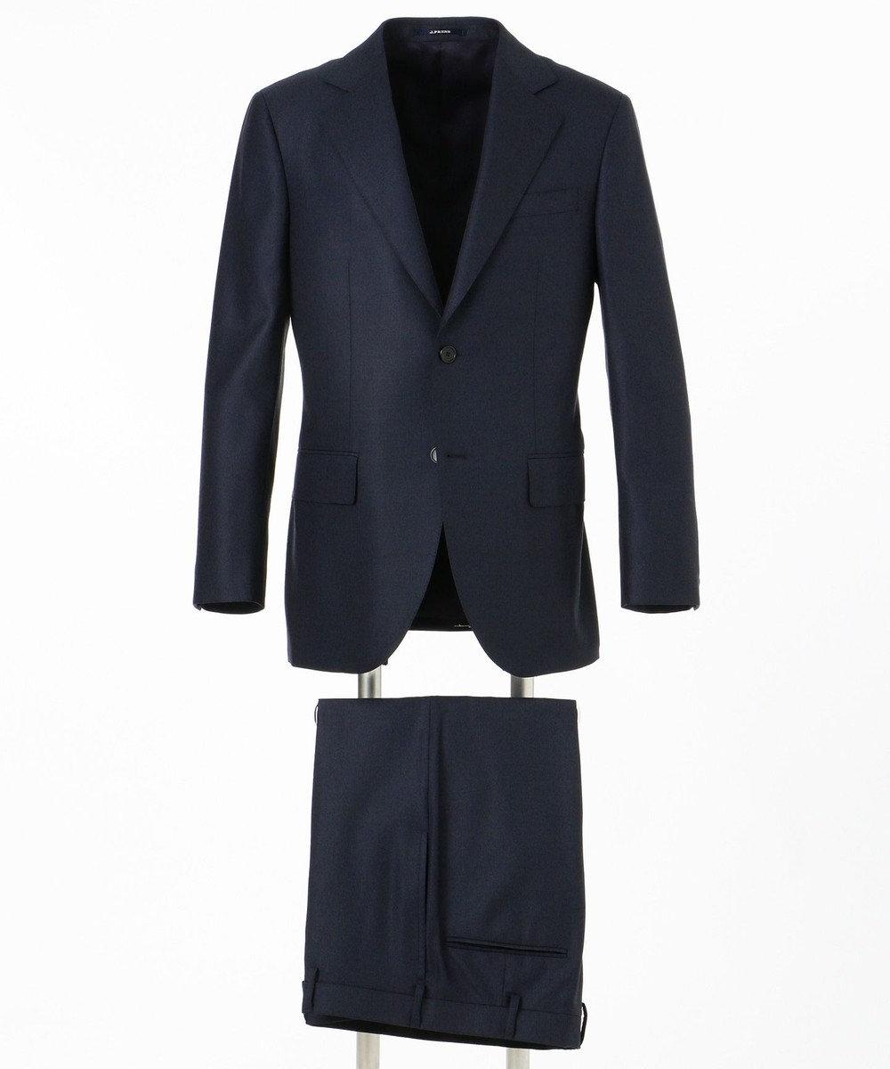 J.PRESS MEN 【Essential Clothing】グレナカートチェック スーツ / 総裏 ネイビー系3