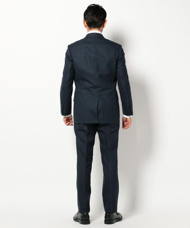 J.PRESS MEN 【NOBLE BALE】シャドーウィンドーペン スーツ ネイビー系4