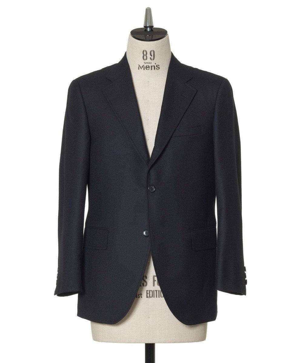 J.PRESS MEN 【ORIGINALS】ペピンメリノ サキソニー スーツ ネイビー系