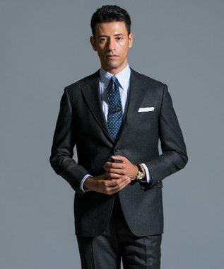 J.PRESS MEN 【ORIGINALS】ペピンメリノ サキソニー スーツ グレー系