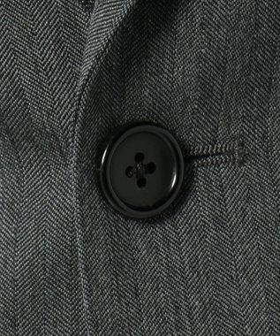 J.PRESS MEN 【Essential Clothing】ダブルワープヘリンボーン スーツ ライトグレー系