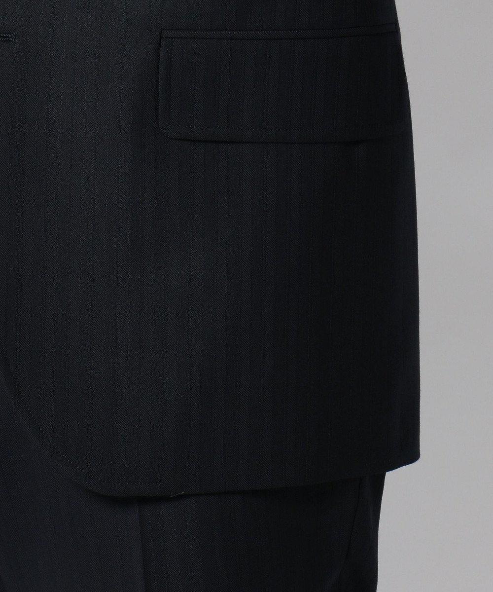 J.PRESS MEN 【CUBABEACH GENTRY】ヘリンボーンストライプ スーツ ネイビー系1