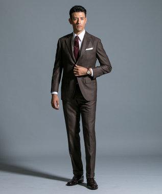J.PRESS MEN 【AMERICAN WOOLEN COMPANY】クラシックグレナカート スーツ ブラウン系3