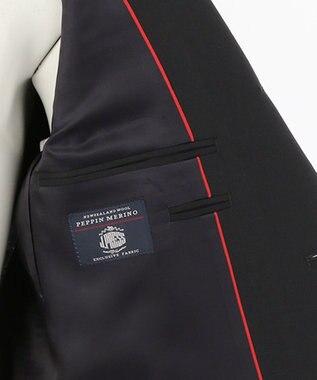 J.PRESS MEN 【BASIC】ペピンメリノトロピカル スーツ ネイビー系