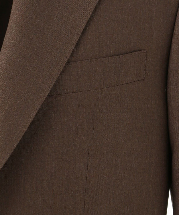 J.PRESS MEN 【ARTHUR HARRISON】YNB メランジブラウン classics 3B スーツ