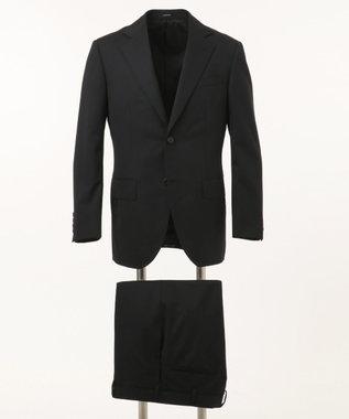 J.PRESS MEN 【HIGHLANDS PEPPIN MERINO】エレガンスツイル スーツ ブラック系