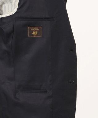 J.PRESS MEN 【HIGHLANDS PEPPIN MERINO】エレガンスツイル スーツ ネイビー系