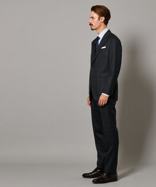 J.PRESS MEN 【Essential Clothing】ミキシングチェック スーツ / Classics 2B グレー系4