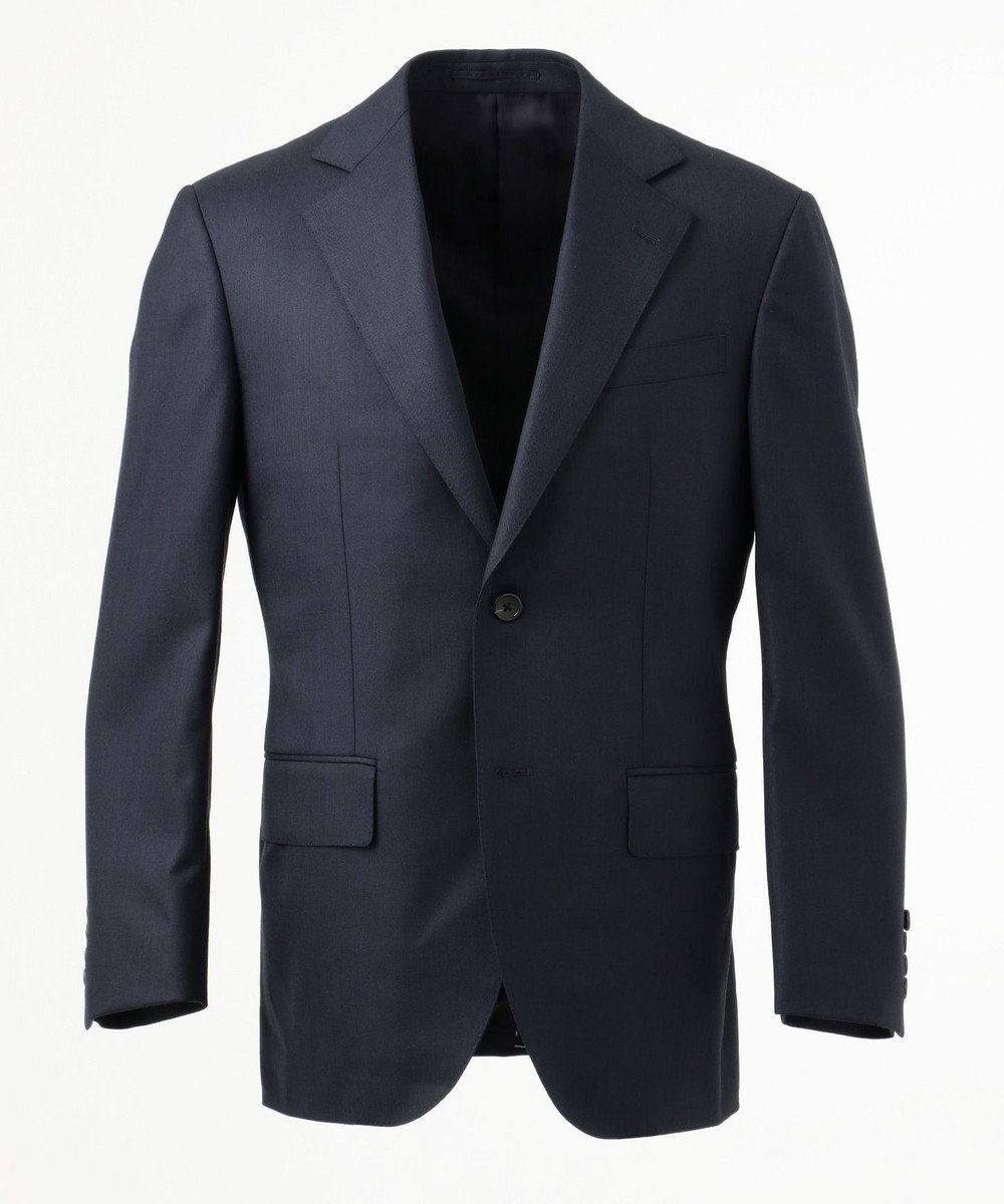 J.PRESS MEN 【Essential Clothing】シャークスキン スーツ ネイビー系