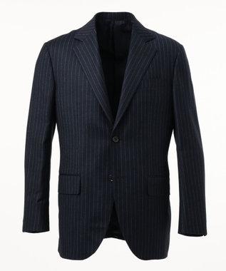 J.PRESS MEN 【GUABELLO MOTION】チョークストライプ スーツ ネイビー系1