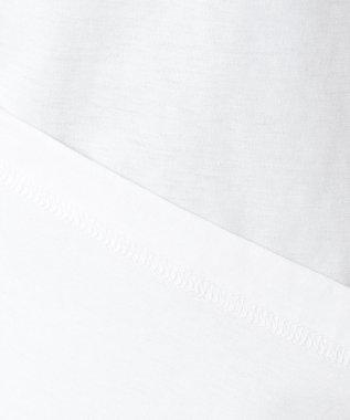 DAKS GOLF 【WOMEN】ハイゲージ天竺 レーストリム カットソー ホワイト系