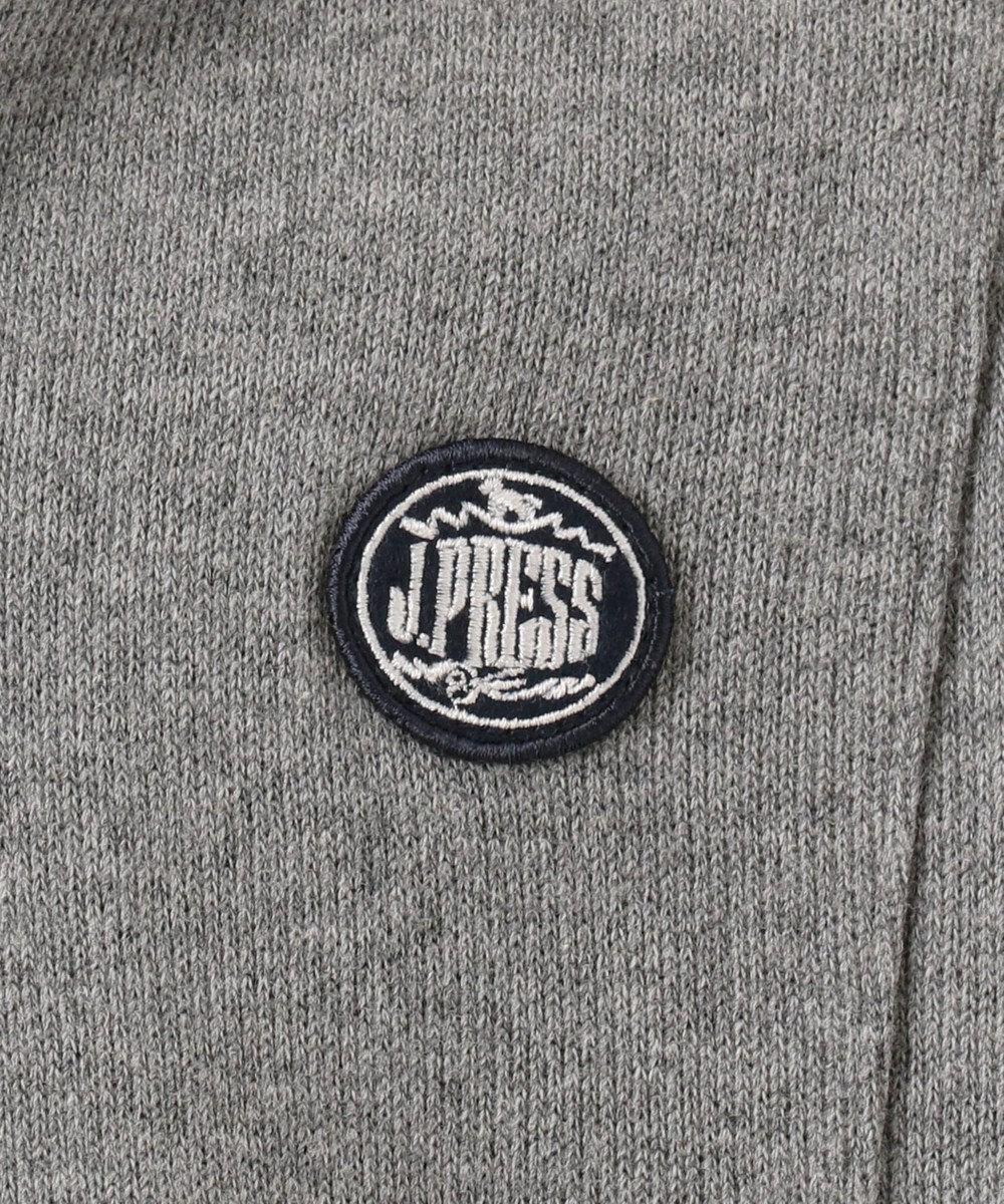 J.PRESS KIDS 【WEB限定/110-130cm】Wフェイス フェイクレイヤード トレーナー グレー系