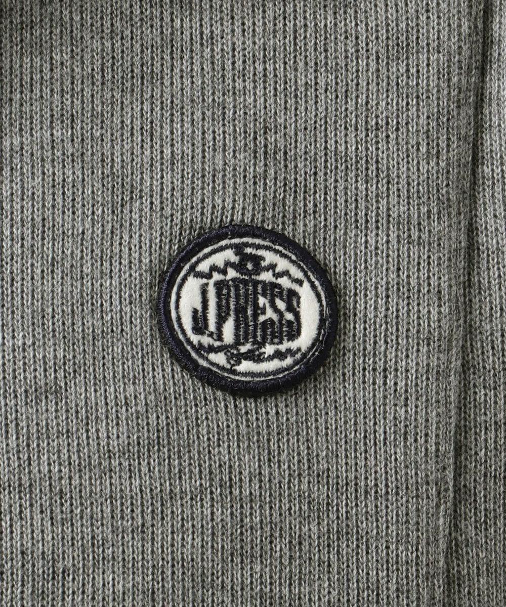 J.PRESS KIDS 【WEB限定カラー有り/140-170cm】Wフェイス フェイクレイヤード トレーナー グレー系