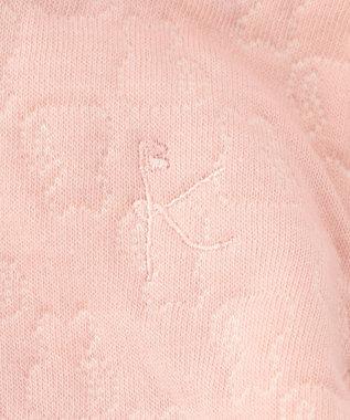 組曲 KIDS 【BABY】ネコキルト パーカー (フード取り外しOK) ピンク系