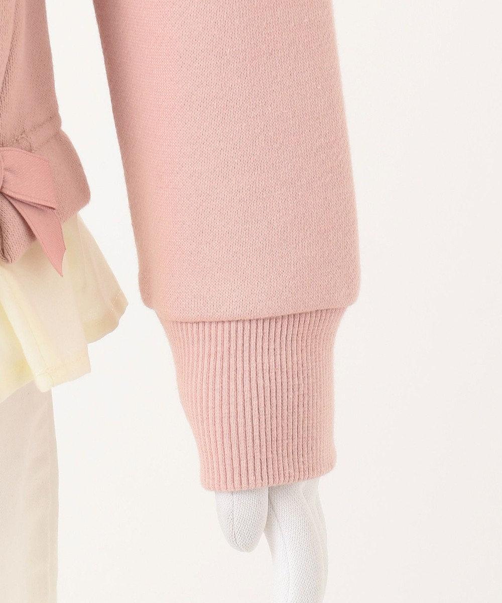 組曲 KIDS 【100-140cm】AC裏毛フリルトレーナー ピンク系