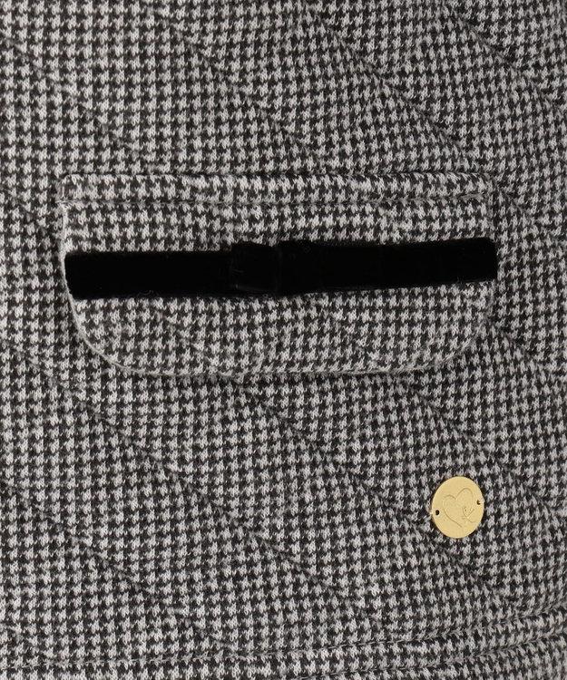 組曲 KIDS 【110~140cm】キルトジャガードジャケット