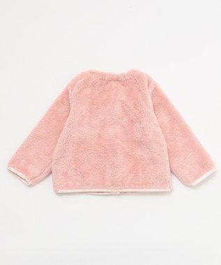 組曲 KIDS 【80~100cm】ボア ブルゾン ピンク系