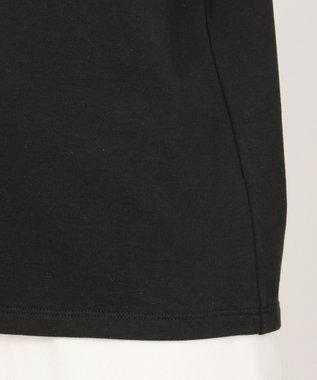 TOCCA BAMBINI 【150-160cm】ミニ裏毛 リボンフリル トレーナー ブラック系