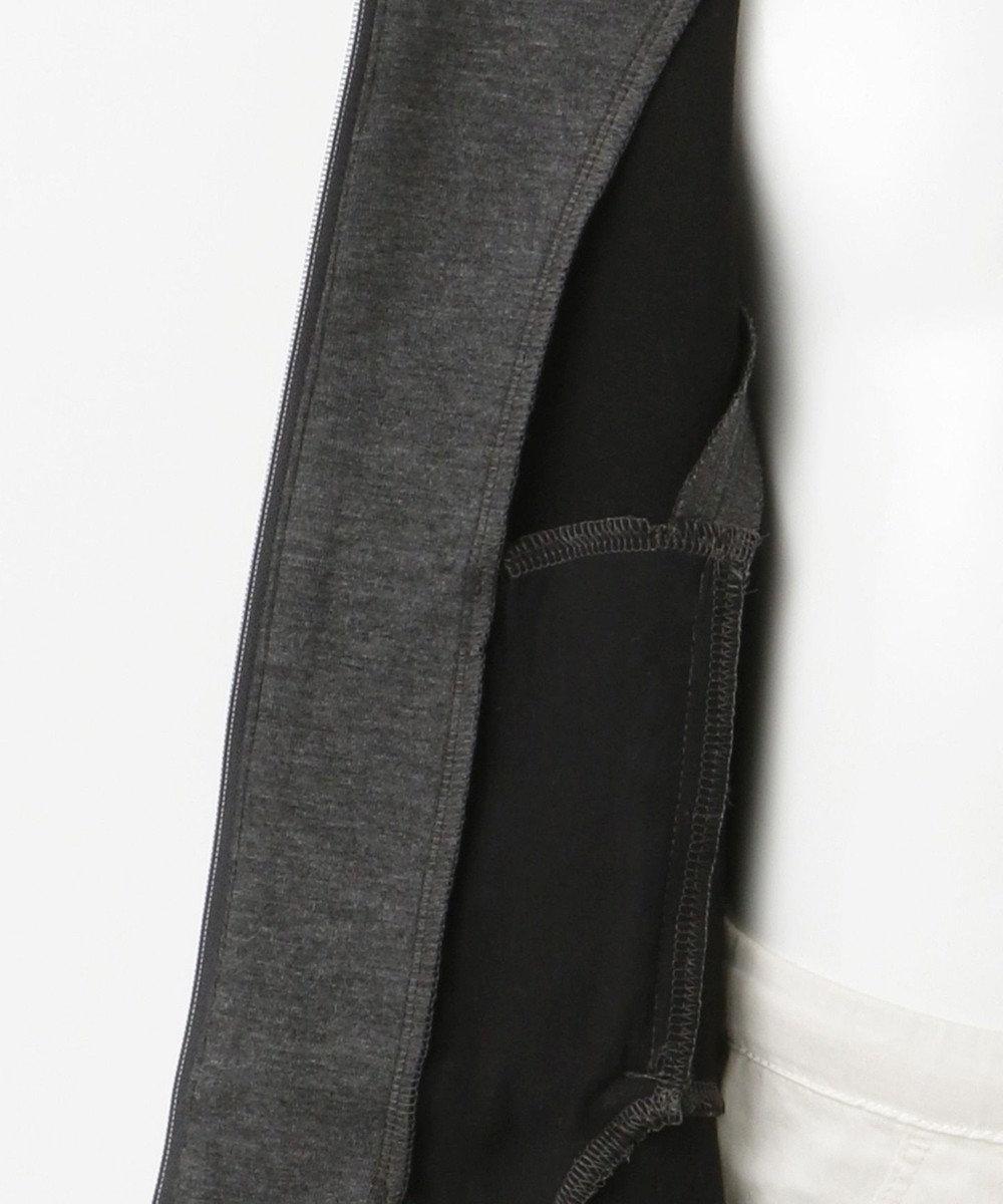 TOCCA BAMBINI 【100-140cm】テンセルストレッチリバー ダンボール パーカー グレー系