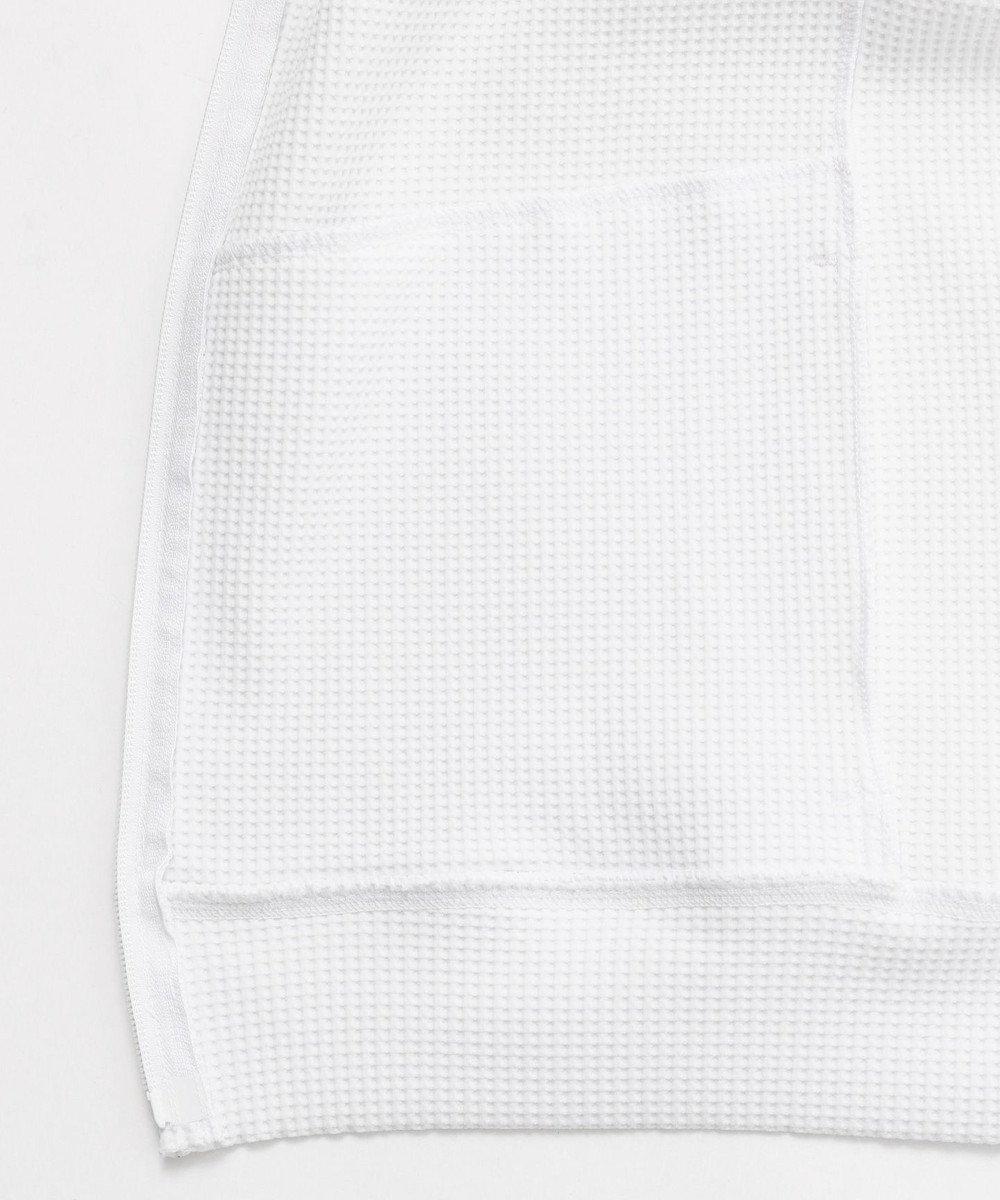23区GOLF 【キングサイズ】ストレッチ/UVケア ポリエステル オニワッフル アウター ホワイト系