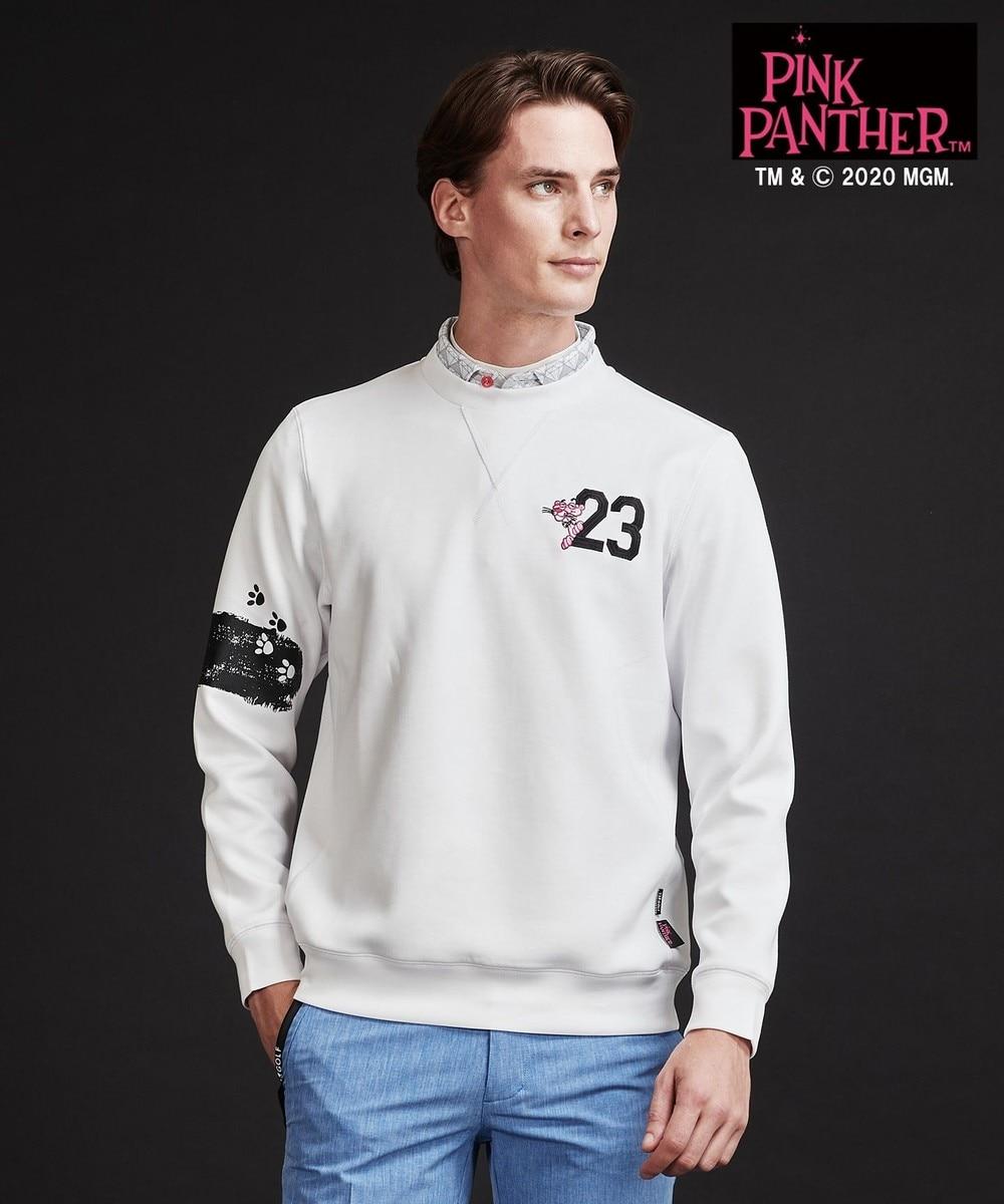 【オンワード】 23区GOLF>トップス 【23区GOLF× pink panther】【MEN】TRダンボールトレーナー ブラック LL メンズ 【送料無料】
