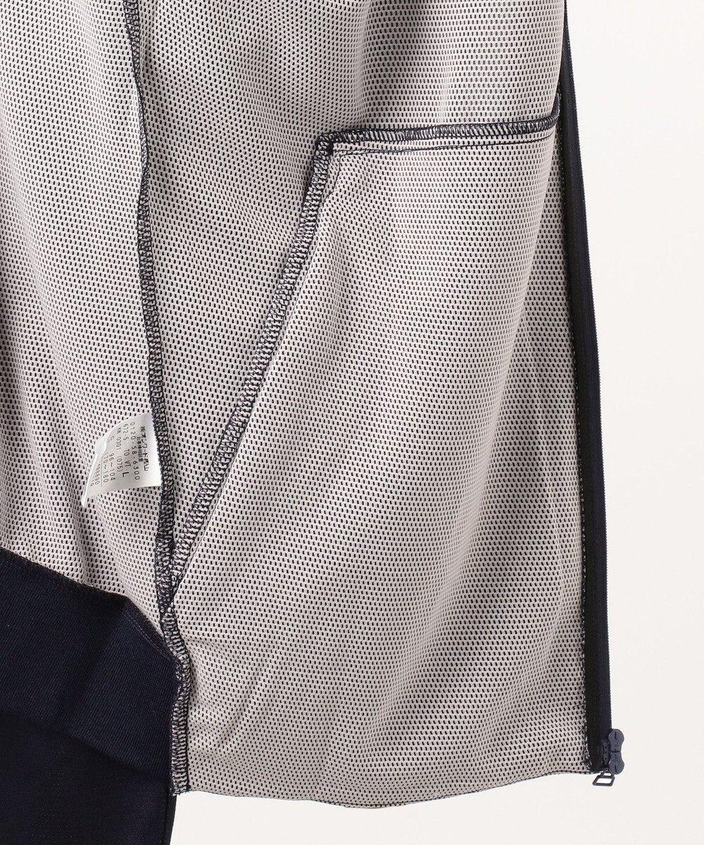 23区GOLF 季節の変わり目に大活躍【MEN】バックメッシュ トラックジャケット ネイビー系