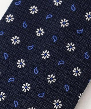 DAKS 【WEB限定】小紋柄 ネクタイ ネイビー系8