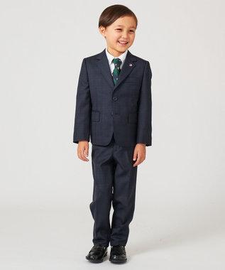 J.PRESS KIDS 【フォーマル雑貨】ロイヤルクレスト ネクタイ グリーン系1
