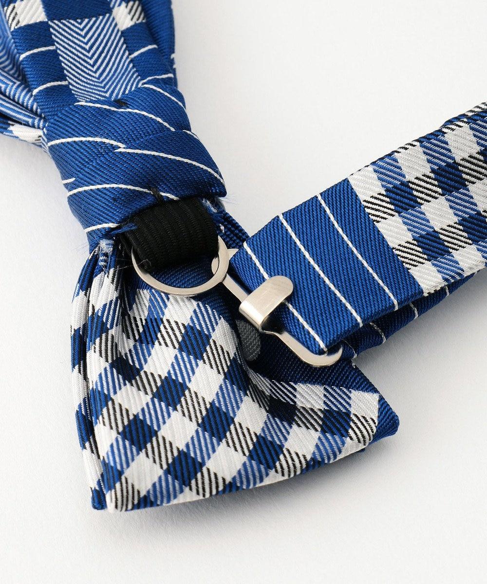 J.PRESS KIDS 【KIDS雑貨】パッチワーク 蝶ネクタイ ブルー系5