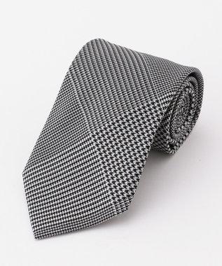 GOTAIRIKU 【フォーマル】ネクタイパターンチェック ネクタイ グレー系8