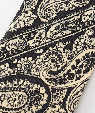 GOTAIRIKU 【WEB別注】【数量限定】ビッグペイズリー柄 ネクタイ ブラック系8