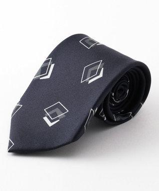 GOTAIRIKU 【WEB別注】【数量限定】トリプルダイヤパターン ネクタイ サックスブルー系8