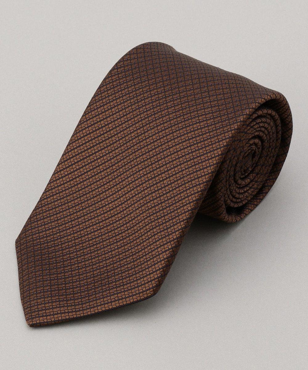 GOTAIRIKU 【一部店舗&WEB限定展開】【NOME】織り柄 ネクタイ ブラウン系8