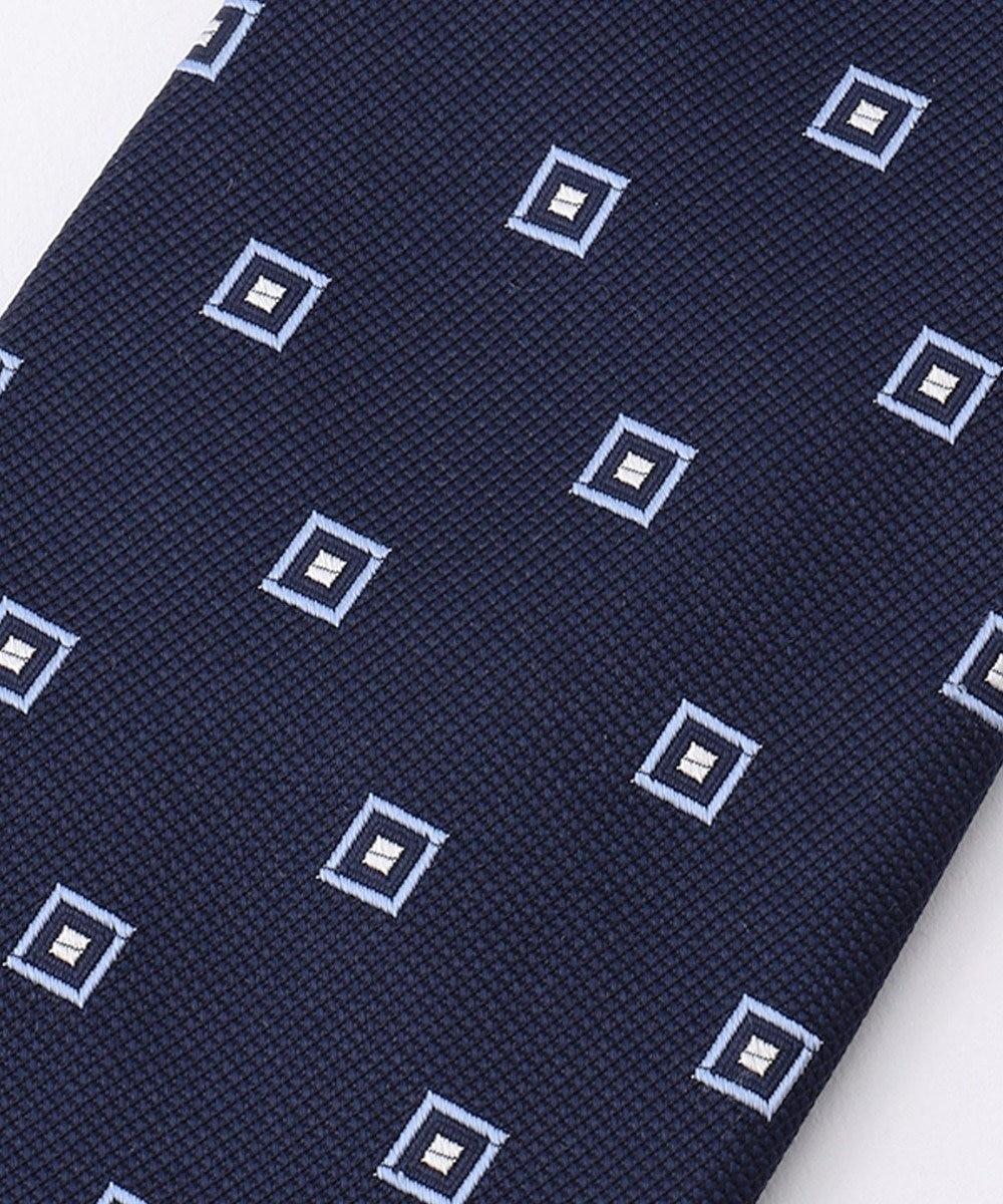 J.PRESS MEN 【BASIC / リクルート対応】小紋柄 ネクタイ ネイビー系8