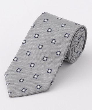 J.PRESS MEN 【BASIC / リクルート対応】小紋柄 ネクタイ グレー系8