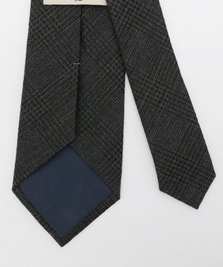 J.PRESS MEN 【Silk&Wool】グレンチェック ネクタイ グレー系3