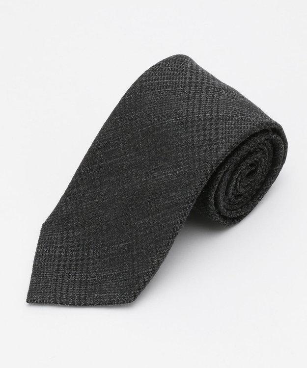 J.PRESS MEN 【Silk&Wool】グレンチェック ネクタイ