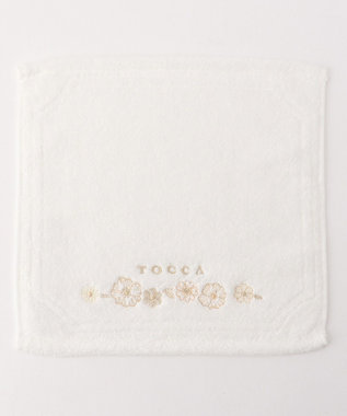 TOCCA 【TOWEL COLLECTION】ETERNO TOWEL CHIEF ハンドタオル ホワイト系
